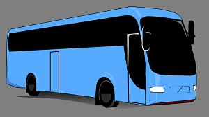 普通のバス