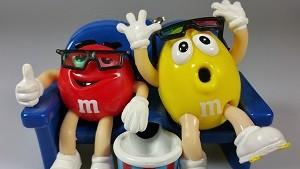 M&Mチョコ