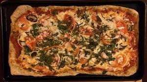 長方形ピザ
