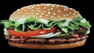 ハンバーガー広告